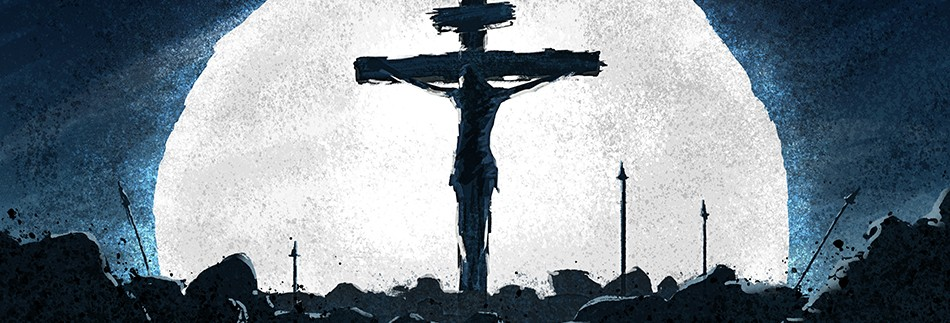 Good Friday Crucifixion Church Website Banner